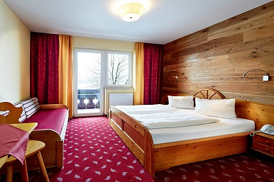 Rooms at the Hotel Wieser